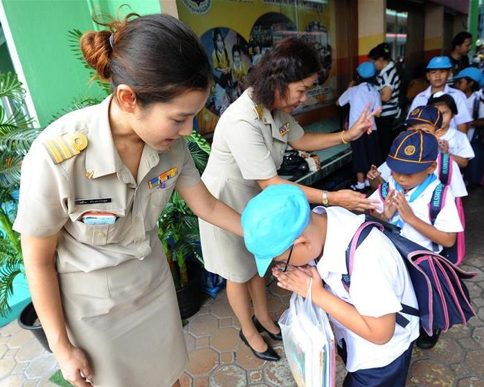 Thailand's Ministry of Health Helps Parents of Young Students Starting School