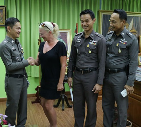 Three Men Arrested after Robbing Swedish Woman in Hua Hin