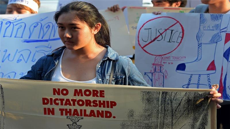 Thailand's human rights records were last reviewed in 2011. The military seized power in May 2014 following a coup.