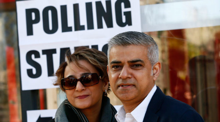 Son of a Bus Driver and Devout Muslim, Becomes London's New Mayor