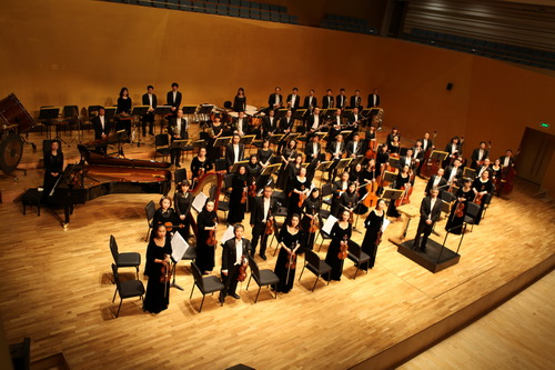 Shanxi Province Symphomy Orchestra is the only state-owned professional symphony orchestra