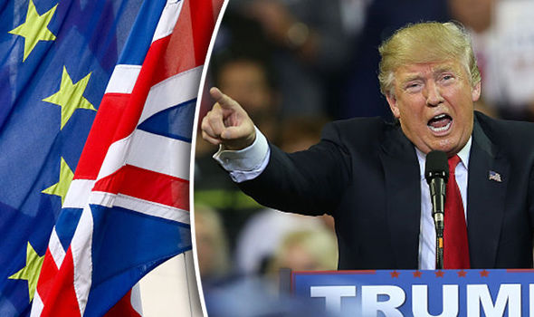 Trump says UK would be Wise to Leave the European Union