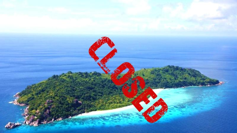 Koh Tachai Island will remain closed as a result of massive destruction caused by visitors.