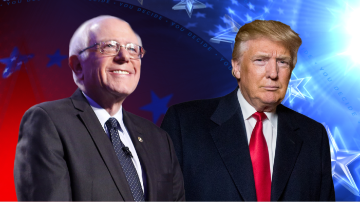 Donald Trump Say's Bernie Sanders Getting Shafted by Democratic Party