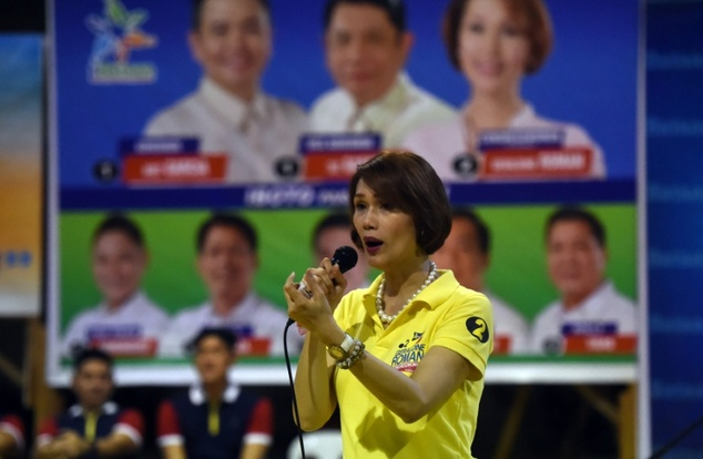 Geraldine Roman is proudly campaigning to be the first transgender lawmaker in the mainly Catholic Philippines