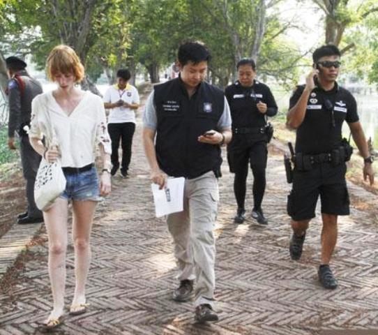 Ayutthaya Police Hunt for Attacker of 20 Year-Old German Woman