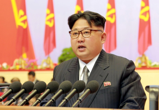 In his three-hour speech Sunday, Kim Jong-Un stressed the need for talks to ease animosities with South Korea.