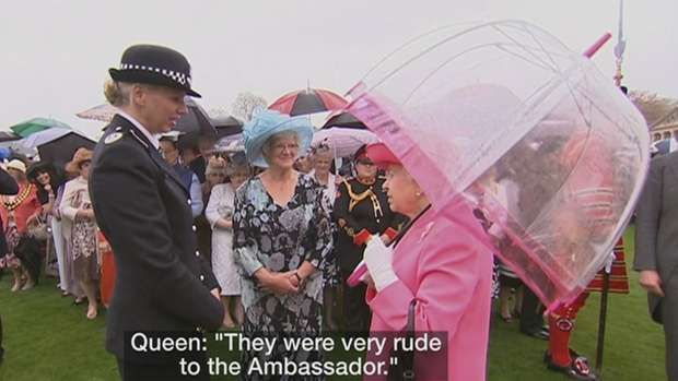 """VIDEO: Queen Elizabeth II States Chinese Officials """"Very Rude"""""""