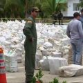 """The biggest seizure of drugs in history. A hit against criminals,"" Colombian President Juan Manuel Santos said on Twitter."