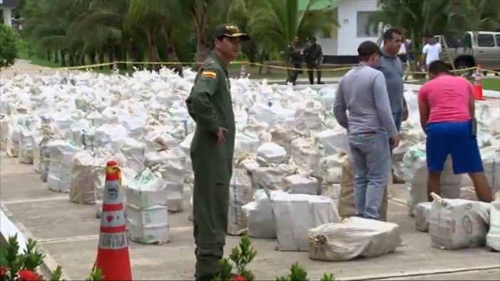 Colombia Seize Eight Tons of Cocaine from Clan Úsuga Gang