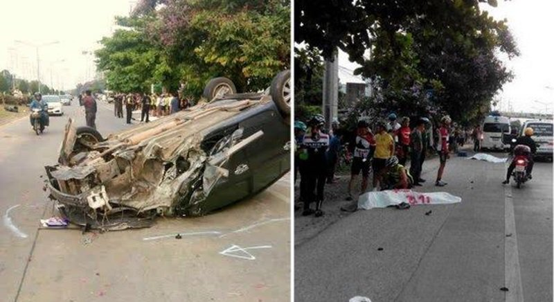 May 3, 2015 when Patchuda Jayruan ploughed into them while driving drunk.