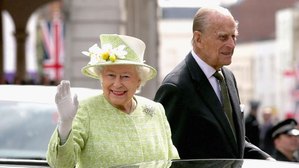 Queen Elizabeth II looks put-together and spry as she celebrates her 90th birthday alongside her husband Prince Phillip.
