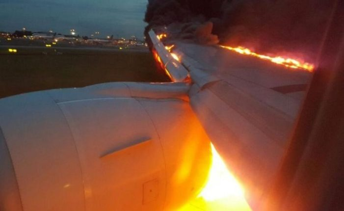 Video: Singapore Airlines Plane Catches Fire After Emergency Landing at Changi Airport