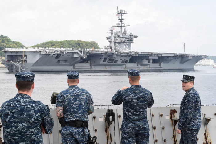 US Navy Imposes Alcohol Ban and Denies Liberty to Sailors in Japan