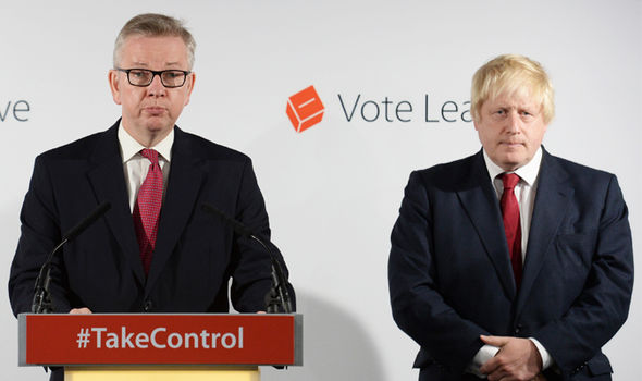 Mr Gove's announcement came just hours after a leaked email revealed Mr Gove's wife warned him about the dangers of backing Mr Johnson.