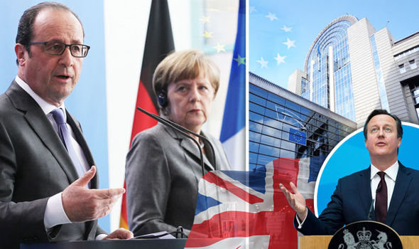 France and Germany Press Britain to Leave EU Quickly