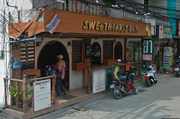 The Sweetheart Bar and Hotel in Pattaya where Steve was found