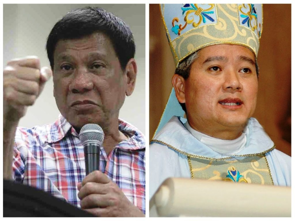 "Duterte blasted the local Catholic church as ""the most hypocritical institution"" and accused some of its bishops of asking for favors from politicians"
