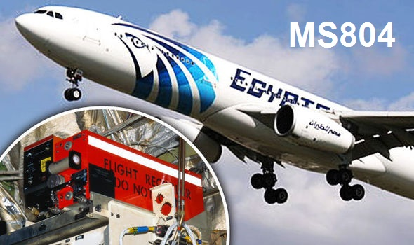 Cockpit Voice Recorder of Missing Egypt Airplane MS804 Recovered