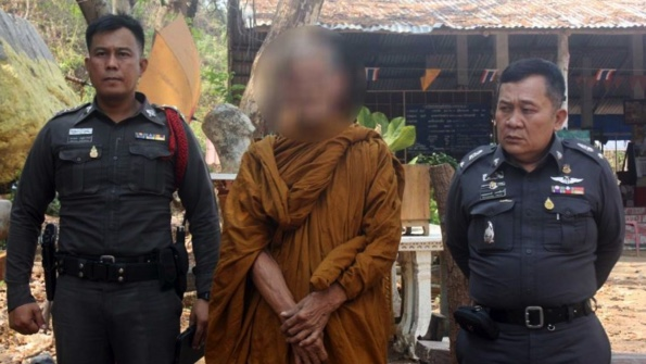 Drunken Monk Beaten after Grabbing 4 Year-Old Girl and Telling Mother he Wanted her for his Wife