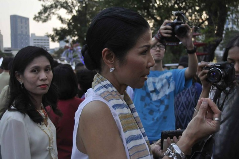 Tourism Minister Kobkarn Wattanavrangkul told reporters she wants the sex industry gone.