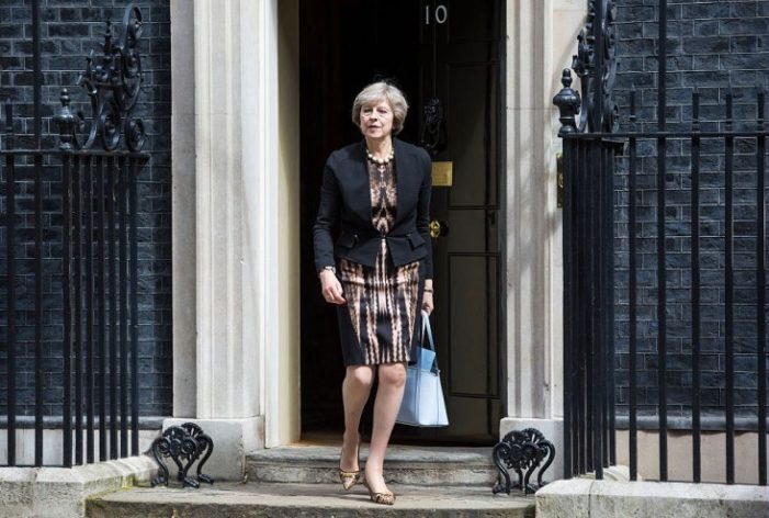 Theresa May Poised to be Britians New Iron Lady