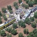 The death toll from a head-on train collision in southern Italy was put at 23 on Wednesday after rescuers worked through the night to extract bodies from the tangled wreckage