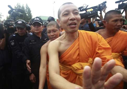 Buddhist priests arrested for using drugs at a temple along with local teenagers
