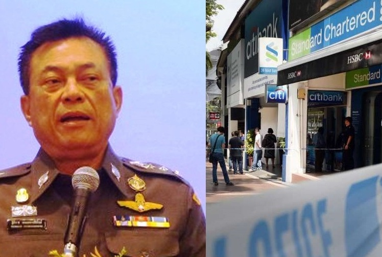 Pol Lt Gen Thitirat Nongharnphithak refused to release mans name