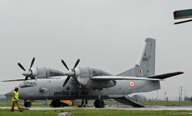 The AN-32 aircraft took off from the southern city of Chennai at 8.30 a.m. and was flying over the water to the city of Port Blair in the Andaman and Nicobar islands.