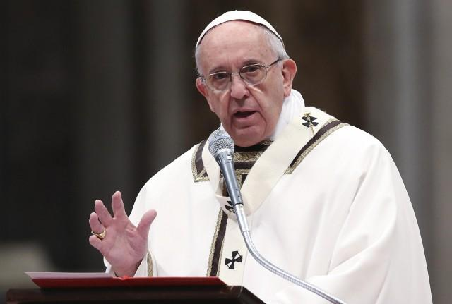 """Pope Francis said Jesus wants the church """"to be a church on the move, a church that goes out into the world"""
