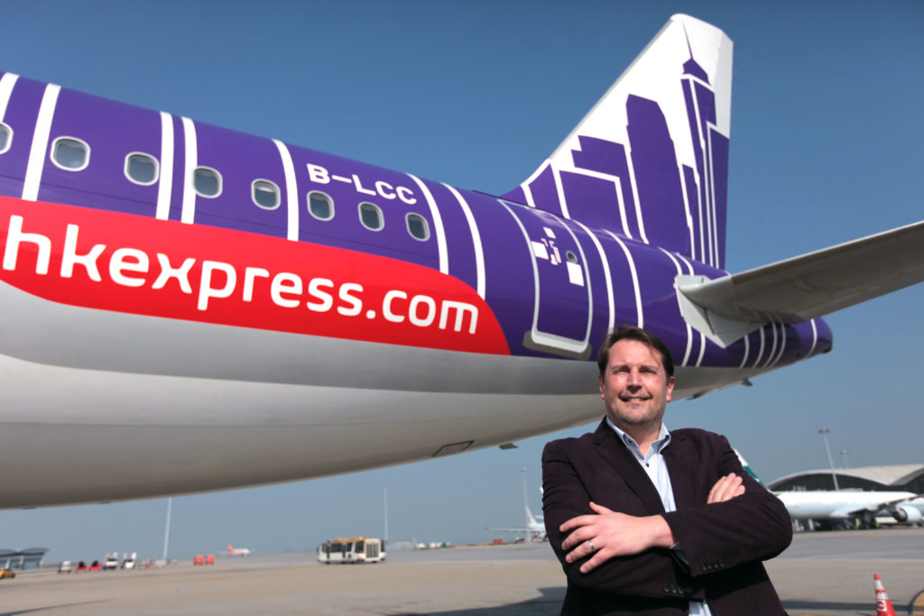 Andrew Cowen, director & CEO of HK Express  plans to launch the first direct connection between Chiang Rai and Hong Kong