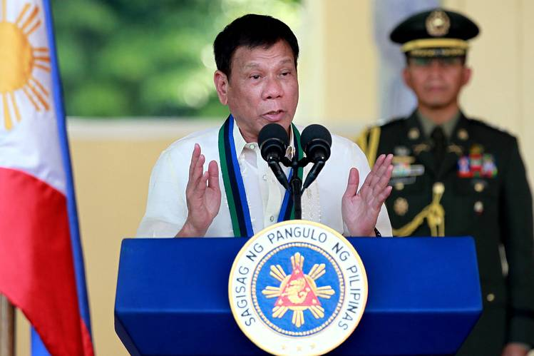 President Rodrigo Duterte convened the National Security Council mainly to discuss his government's strategy in negotiating with China