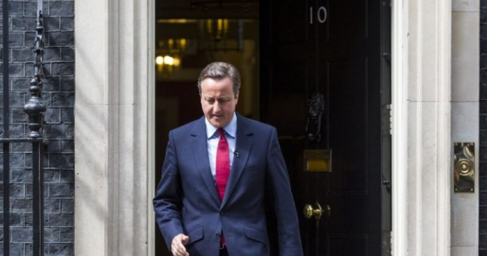 David Cameron Chairs his Final Cabinet Meeting before Stepping Down Wednesday