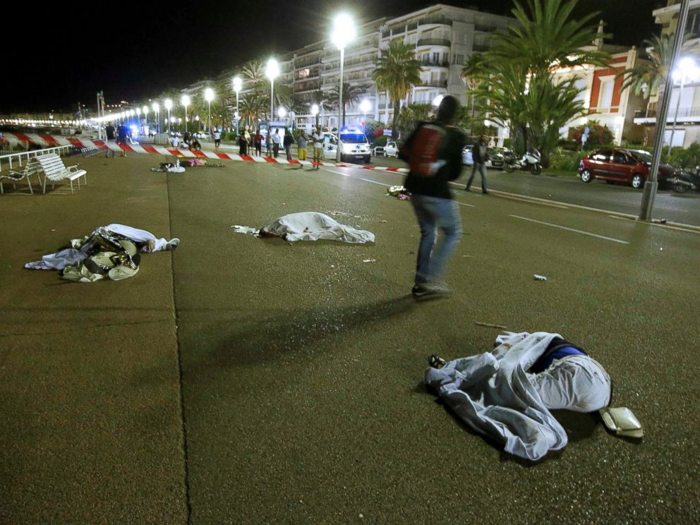 """The incident left an """"apocalyptic"""" scene, according to eyewitnesses, on the famed Promenade des Anglais, put the city on lockdown and drew swift condemnation from world leaders."""