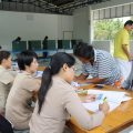Villagers register to be on voting list for up coming referendum in rural Chiang Rai