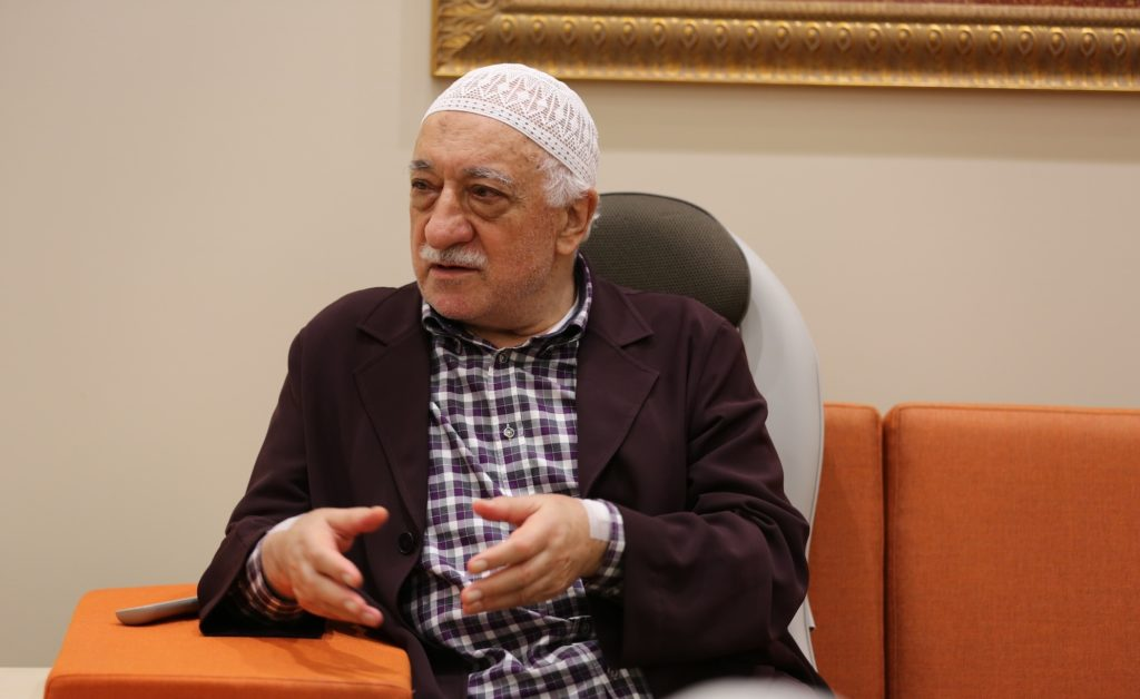Muhammed Fethullah Gülen is a Turkish preacher, former imam, writer, and political figure. He is the founder of the Gülen movement. He currently lives in self-imposed exile in the United States