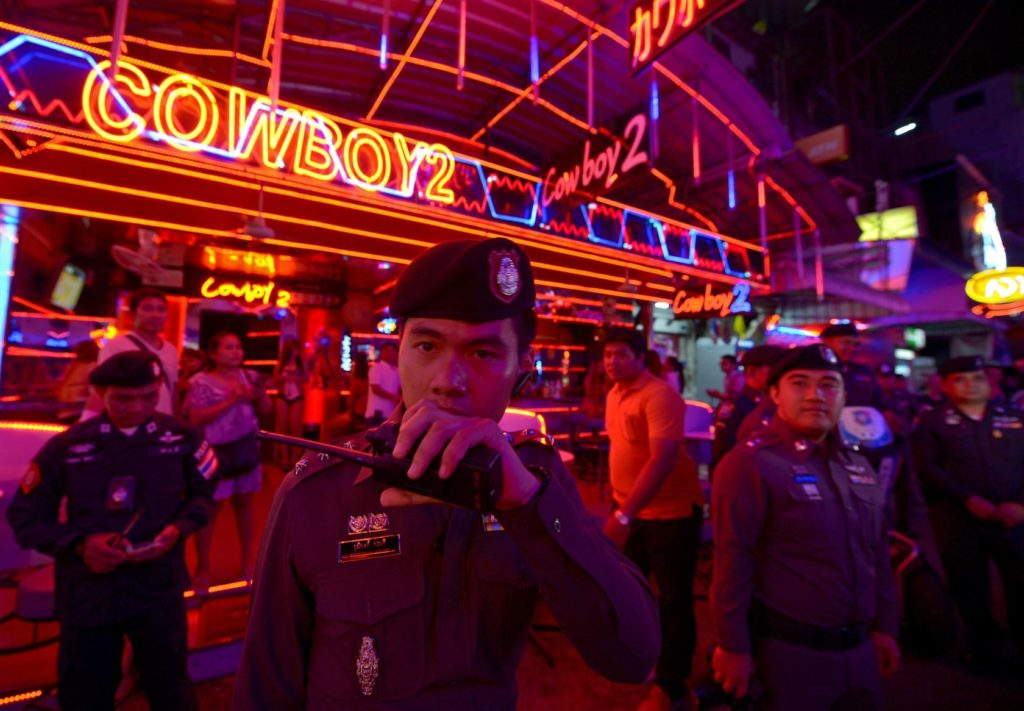 Police said they were looking to prosecute venues employing underage and illegal migrant workers