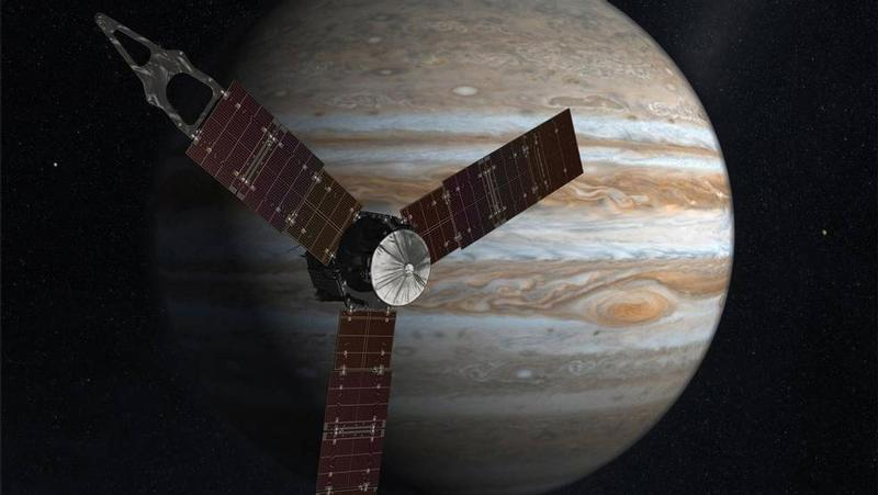 After a five-year journey, a solar-powered NASA spacecraft called Juno is set to attempt to enter the planet's orbit
