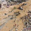 Rainstorms and ensuing floods have affected seven provincial-level regions in China