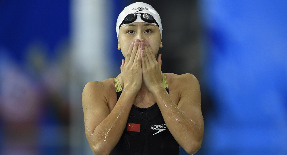 China's Chen Xinyi Becomes First Swimmer to Fail Doping Test at Rio Games