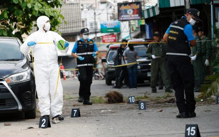 The 11 explosions killed four people and injured dozens, including 11 foreign tourists.