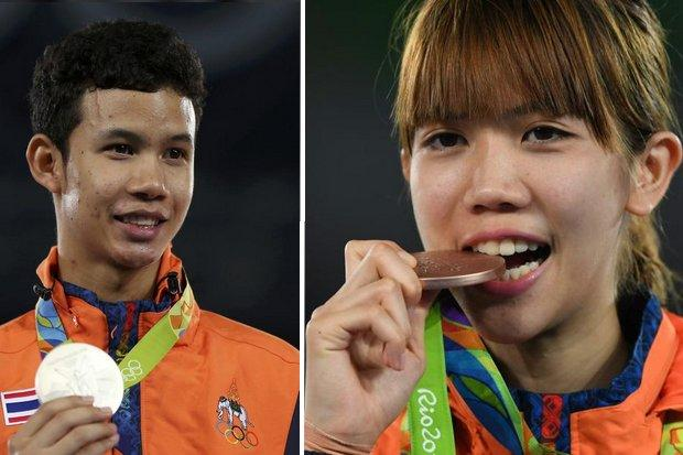 Thailand Wins Silver and Bronze in Taekwondo at Rio Olympics