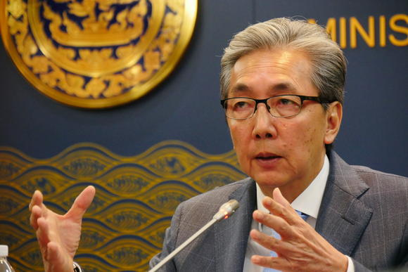 Thailand's Deputy Prime Minister Says Thai Economy has Already Bottomed Out