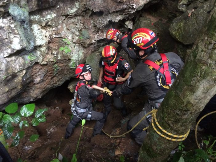 Search for Missing Man in Chiang Rai Caves Comes up Empty