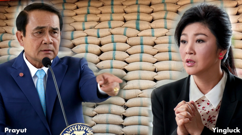 FORMER PRIME MINISTER Yingluck Shinawatra is liable for more than Bt280 billion in damages from her government's controversial rice-pledging scheme, according to Prime Minister Prayut Chan-o-cha.