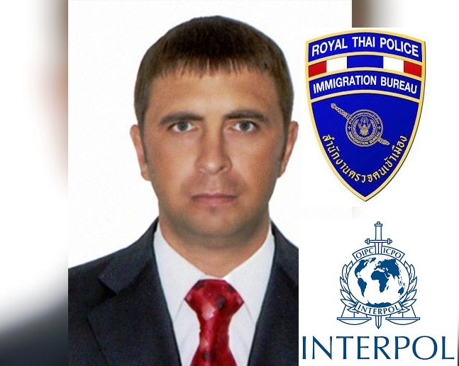 Vasily Smolnikov was detained by Thai police on behalf of Interpol.