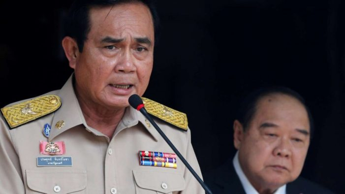 Gen.Prayut Defends Use of Article 44 for Removal of Bangkok Governor