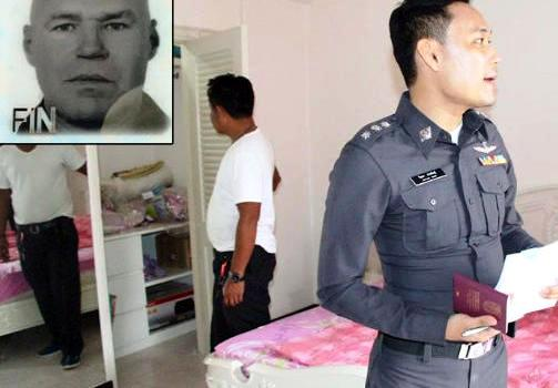 50 Year-Old Finn Found Hanging in his Pattaya Home Bathroom