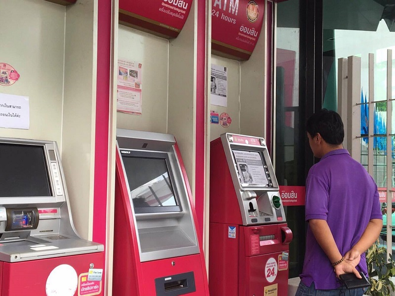 Once a machine was infected by the virus and when a fake card was inserted into the machine, all the cash in the machine would flow out